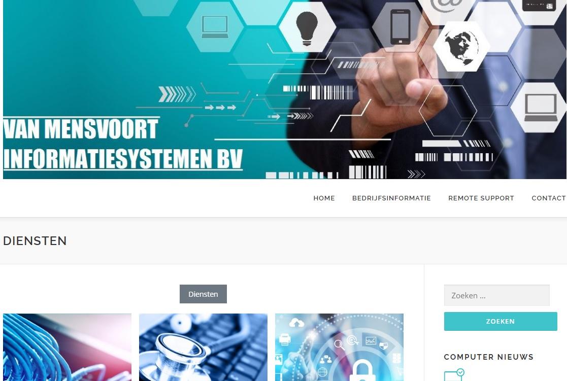 website en webshop bouwen
